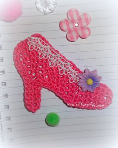 High Heel Shoe Motif free