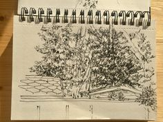 Sketch outside