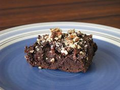 Unprocessed Brownies (in her cooking show, Chef AJ uses ground oats instead of flour)