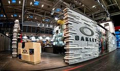 Oakley stand at ISPO by Green Room, Munich exhibit design