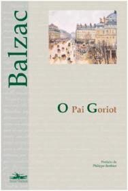 Capa do livro O Pai Goriot de Honoré de Balzac