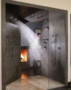La douche est incroyable