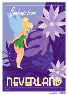 Tinkerbell by Dan Beltran  [this image looks to be the best on the page lol! ;) Mo] #tinkerbell #card #greetings