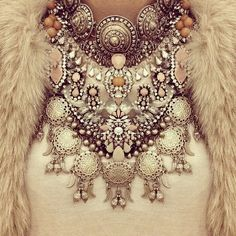 This is statement piece. #beautiful #jewelry #jewels ♥