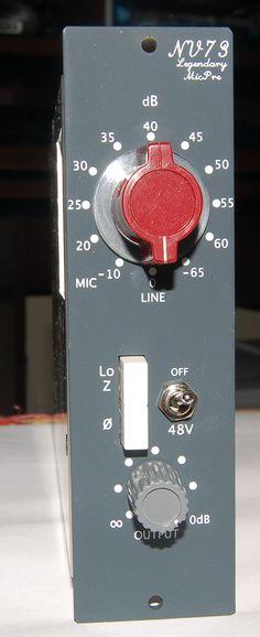 Vintage Neve mic pre!