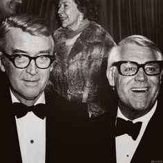 """It was time to do the scene, and Cary said, """"George, why don't we just go ahead? If you don't like it, we'll do it again."""" So, without a rehearsal or anything, we started the scene. As I was talking, it hit me that I'd had too much to drink. So, as I explained things to Cary, I hiccuped. In answer to the hiccup, Cary said — out of the clear blue sky — """"Excuse me."""" Well, I sort of said, """"Ummm?"""" It was very difficult for me to keep a straight face, because his ad-libbed response had been so…"""
