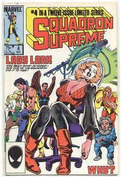 Squadron Supreme vol. 1 # 4 of 12 VG - Tic Toc Comics