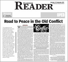 @Regranned from @harunyahyaintmedia - Adnan Oktar's piece in Kashmir Reader: Road to Peace in the Old Conflict What needs to be done to bring peace to the region, especially to #Kashmir, is to build a...