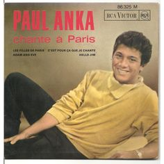 I Love Paris composed by Cole Porter in Paul Anka's version first appeared on his second ABC Paramount LP: My Heart Sings in 1959 Logan And Jake, Jake Paul, Paul Anka, Je Chante, Magazine Advert, She's A Lady, I Love Paris, Music Publishing, Music Songs