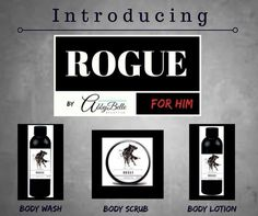 Introducing the rogue line for men: www.affiliate.abbybelle.com/lydszm/
