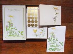 Vintage Daisy Time Stationery Box Set by Current by Isisgoodsny