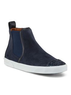 JIMMY CHOO Made In Spain Suede Slip On Sneaker $499.99