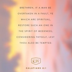 Verse of the Day: Galatians Bible Verses Kjv, Powerful Scriptures, Bible Verses Quotes, Galatians 6, Healing Words, Bible Encouragement, Christian Memes, Gods Grace, Verse Of The Day