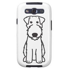 Kerry Blue Terrier Dog Cartoon Samsung Galaxy S3 Cases