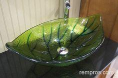This one is different! Glass Vessel Sinks, Deco, Serving Bowls, Tableware, Dinnerware, Tablewares, Decor, Deko
