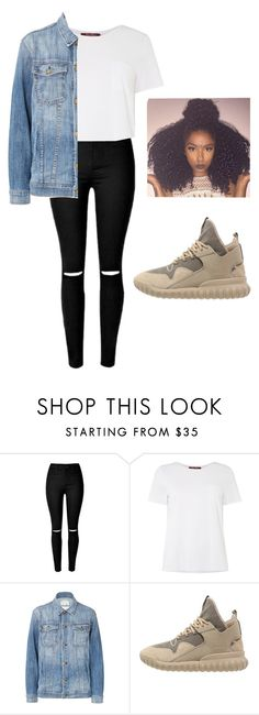 """Untitled #52"" by queentaylor1 ❤ liked on Polyvore featuring MaxMara, Current/Elliott, adidas Originals, women's clothing, women, female, woman, misses and juniors"