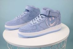 brand new 4cb8c d4fe0  Have A Nice Day  Nike Air Force 1 Mid L.V8 2 Indigo Fog