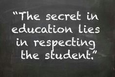 Respect students