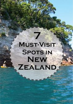 "Definitely ""on my list"" of places I want to see! - Discover these 7 must-visit spots on your summer trip to New Zealand! Go kayaking and discover kumara, the exotic sweet potato!"
