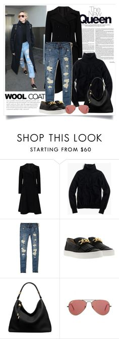 """""""The New Queen: Margot Robbie"""" by dfashongrl ❤ liked on Polyvore featuring Jacques Vert, J.Crew, Hollister Co., Giuseppe Zanotti, Michael Kors and Ray-Ban"""