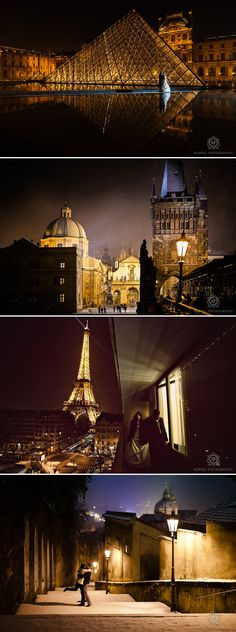 Paris and Prague Pre-Wedding Package Deal from Rowell Photography