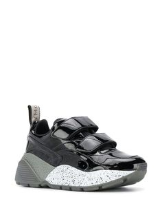 Stella McCartney Eclypse touch strap sneakers in Black Sneakers For Sale, High Top Sneakers, Stella Mccartney Sneakers, Color Negra, Women Wear, Heels, Touch, Fashion Design, Shopping