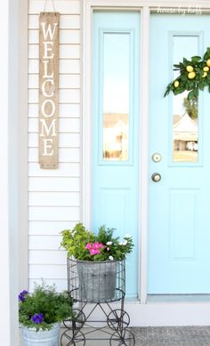 Rustic welcome pallet sign
