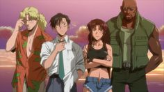 Anime Review: Black Lagoon  Overview  Black Lagoon follows the story of the pirate crew of the titular PT boat The Black Lagoon and their interactions with the criminal underworld in the city of Roanapur. There is Dutch a Vietnam veteran and leader of the group Benny the technician and occasional getaway driver Revy the groups sharpshooter known by her moniker Two Hands for her ability to duel wield pistols and finally theres Rock the newest recruit and the audiences surrogate into the…