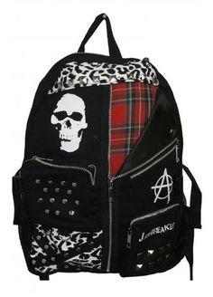 Jawbreaker Skull Anarchy Backpack, £25.99