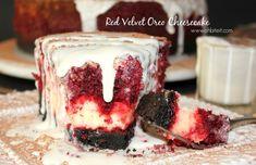 ~Red Velvet OREO Cheesecake!
