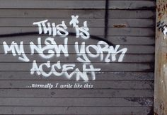 Banksy in New York, Banksy explains that street art — especially when it's earning the artist money — can just feel like marketing. This is true, and I don't usually like his one liner style, but these are sharper and less obvious. A better Bansky.