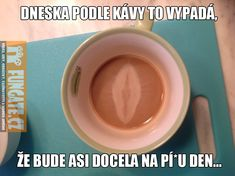dneska podle kavy to vypada Funny Memes, Jokes, Funny Pictures, Funny Pics, Cake Recipes, Diy And Crafts, Facts, Coffee, Tv