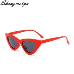Comprar Novo Olho de Gato Do Vintage óculos de Sol Das Mulheres Designer De  Marca Personalidade 886ef09d51