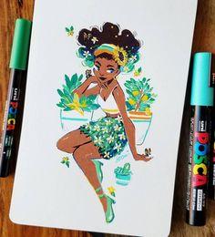 Posca Marker, Marker Art, Marker Drawings, Posca Art, Arte Sketchbook, Cool Art Drawings, Cartoon Art Styles, Pen Art, Copics