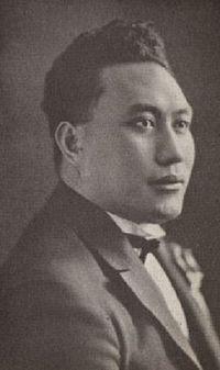 Tupua Tamasese Lealofi III - Leader of Mau 'Samoa mo Samoa'