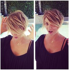 Kaley Cuoco gets dramatic pixie haircut: see her new 'Peter Pan' look | Story | Wonderwall