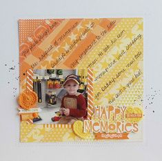 Bella Blvd Mix and Match Collections: Lucky Starz, Max, Family Forever. Happy Memories layout by DT Member Becki Adams