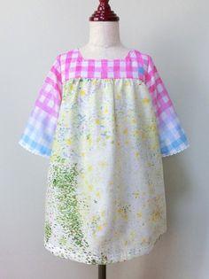 (100)息吹のベルスリーブワンピ - handmade shop [KZ] by KeiZon ★ ちょっぴりオシャレなハンドメイド子供服