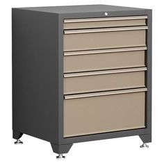 Found it at Wayfair - 18 Gauge Tool Drawer Cabinet in Taupe
