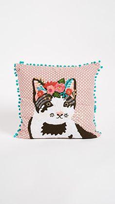 Gift Boutique Floral Cat Pillow | SHOPBOP