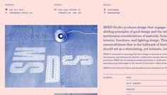 MSDS Studio - Love the color combination and Century School Monospace font