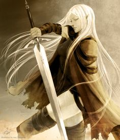 Celaena Sardothien, but she is a Claymore, Irene