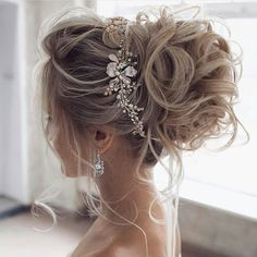 36 Hottest Bridesmaids Hairstyles Ideas ❤️ hottest bridesmaids hairstyles id. 36 Hottest Bridesmaids Hairstyles Ideas ❤️ hottest bridesmaids hairstyles ideas elegant curly high updo with glamorous accessorie tonyastylist Source Wedding Hair And Makeup, Hair Makeup, Big Wedding Hair, Romantic Wedding Hair, Wedding Nails, Hair Pieces For Wedding, Perfect Wedding, Bridal Nails, Gold Wedding