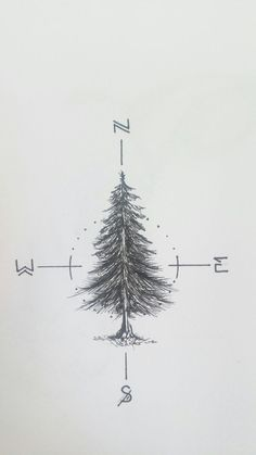 Tatto Ideas & Trends 2017 - DISCOVER Working on a fir tree tattoo for myself _____________________________ #fir… Discovred by : Julien G