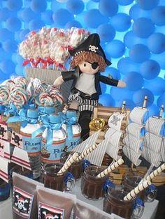 Encontrando Ideias: Festa do Pirata!!!