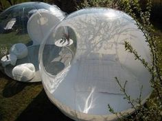 Bubbletree: Clear Prefab Bubble Tents for Romantic Exhibitionism in the Wild