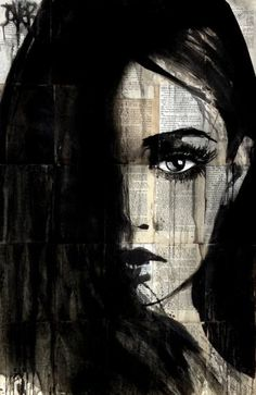 "Saatchi Art Artist Loui Jover; Drawing, ""true destiny"" #art"