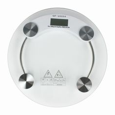Ohuhu Digital Body Weight Scale with Large LCD Display, Round, 2.5-180kg /5.5 lbs-396 lbs * Check out this great product.