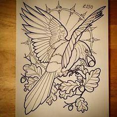 ideas tattoo traditional crow style for 2019 Body Art Tattoos, Sleeve Tattoos, Crow Tattoos, Phoenix Tattoos, Ear Tattoos, Tattoo Sketches, Tattoo Drawings, Symbols Of Strength Tattoos, Tattoo Symbols
