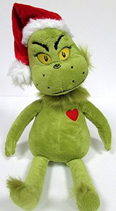Dr Seuss The GRINCH Who Stole Christmas 14 GRINCH Plush Doll *** Details can be found by clicking on the image.